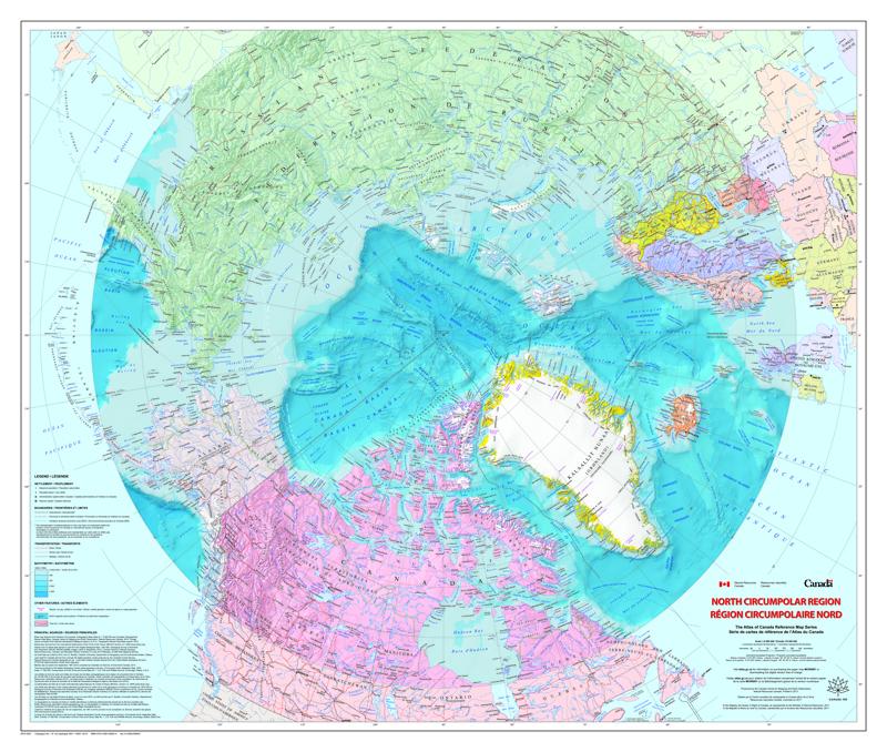 La région circumpolaire – Nord (2017)