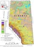 Alberta, relief