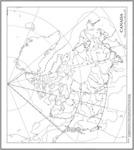 Latitude et longitude du Canada