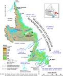 Terre-Neuve-et-Labrador, relief