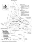 Nunavut avec toponymes