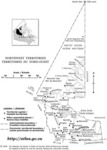 Northwest Territories with Names