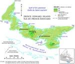 Île-du-Prince-Édouard, relief