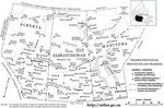 Provinces des Prairies avec toponymes