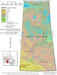 Saskatchewan, relief