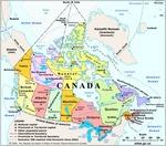 Canada Political Divisions
